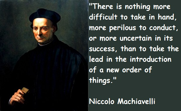Machiavellian Statecraft and Conspiracies