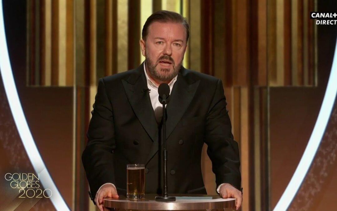 Ricky Gervais Calls Out Hollywood Pedophiles at the Golden Globes